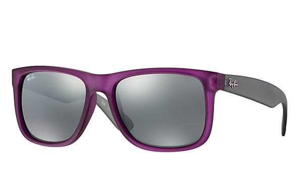 Ray-Ban 0RB4165-JUSTIN COLOR MIX Violet; Grey SUN
