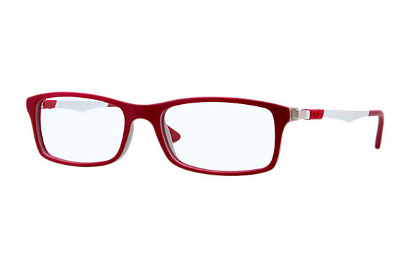 Ray-Ban 0RX7017-RB7017 Bordeaux,Grey; Silver OPTICAL