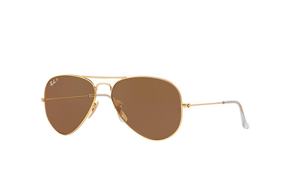 ray ban rb3025 iconic aviator sunglasses  ray ban 0rb3025 aviator classic gold sun
