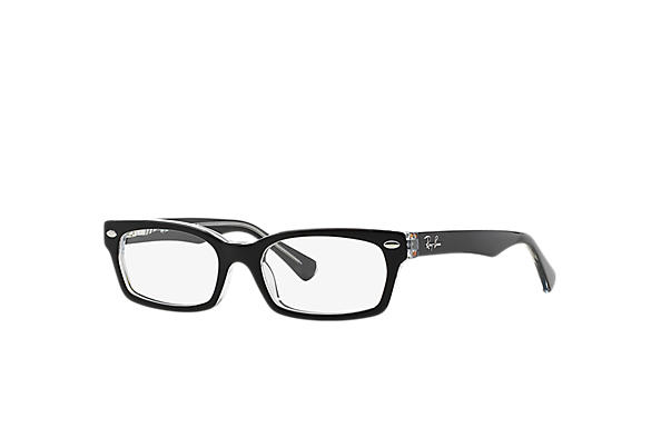 Ray-Ban 0RY1533-RB1533 Black,Transparent OPTICAL