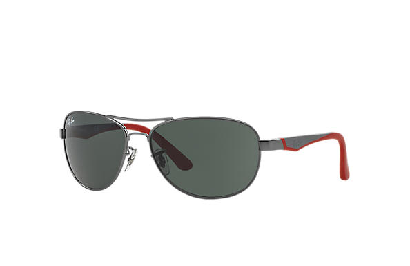 Ray-Ban 0RJ9534S-RJ9534S Gunmetal; Red SUN