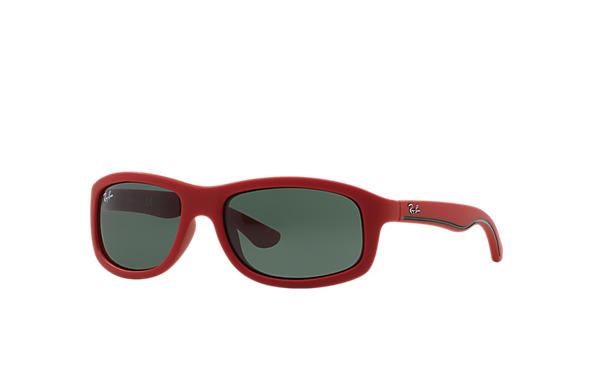 Ray-Ban 0RJ9058S-RJ9058S Red SUN