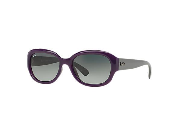 Ray-Ban 0RB4198-RB4198 Violet; Gris SUN