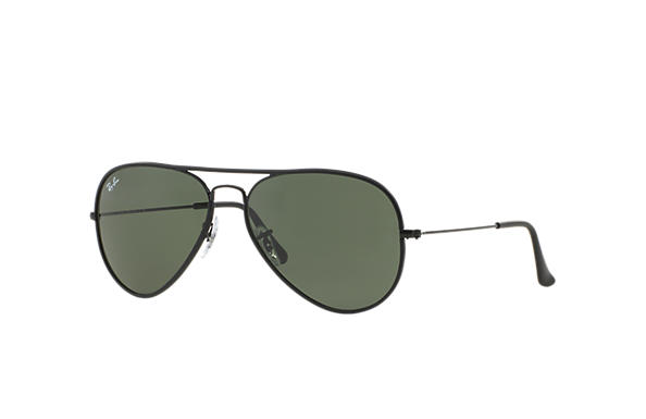 Ray-Ban 0RB3025JM-AVIATOR FULL COLOR Black SUN