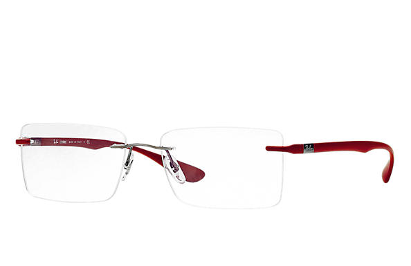 Ray-Ban 0RX8720-RB8720 Gun; Rouge OPTICAL