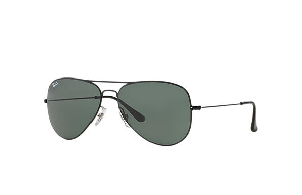 Ray-Ban 0RB3513-AVIATOR FLAT METAL Black SUN
