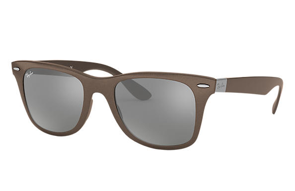 ray ban liteforce pmcx  Ray-Ban 0RB4195-WAYFARER LITEFORCE Brown SUN