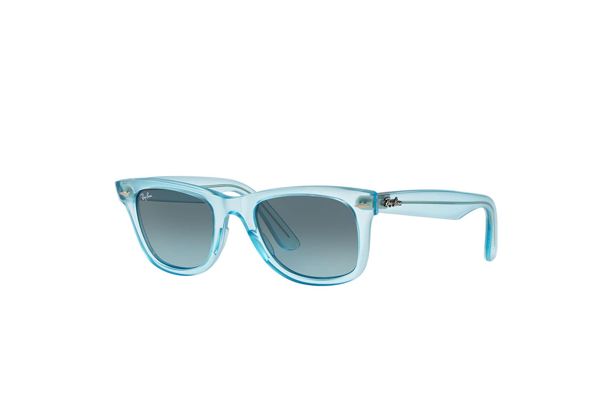 ray ban wayfarer turquoise  ray ban 0rb2140 original wayfarer ice pops light blue sun