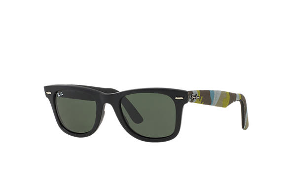 Ray-Ban 0RB2140-ORIGINAL WAYFARER URBAN CAMOUFLAGE Black; Multicolor,Black SUN