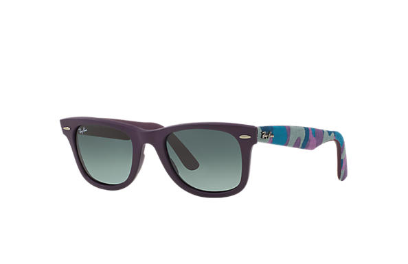 ray ban rb2140 original wayfarer sunglasses 50mm  Ray-Ban RB2140 Black Multicolor,Black, Green Lenses