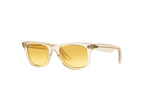 ray ban rb2140 wayfarer sunglasses yellow  ray ban 0rb2140 original wayfarer ice pops yellow,light brown sun