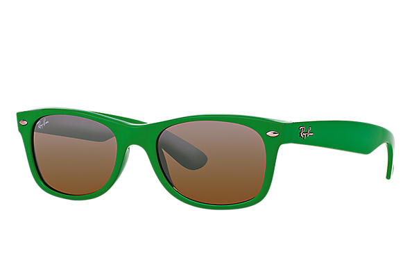 Ray-Ban 0RB2132-NEW WAYFARER COLOR SPLASH Green SUN