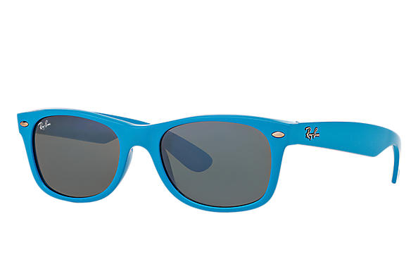 Ray-Ban 0RB2132-NEW WAYFARER COLOR SPLASH Light Blue SUN