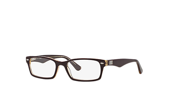 Ray-Ban 0RX5206-RB5206 Bordeaux,Trasparente OPTICAL