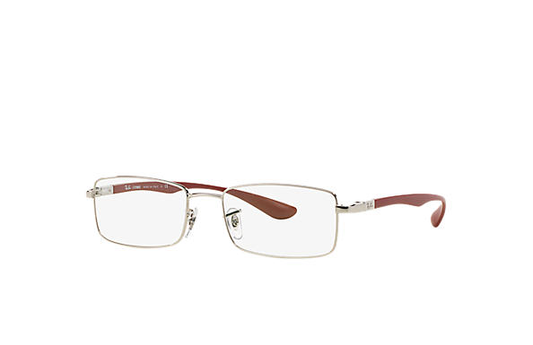Ray-Ban 0RX6286-RB6286 Silver; Red OPTICAL