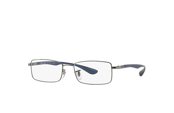 Ray-Ban 0RX6286-RB6286 Gunmetal; Blue OPTICAL