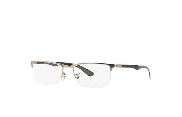 Ray-Ban 0RX8413-RB8413 Silver; Black OPTICAL