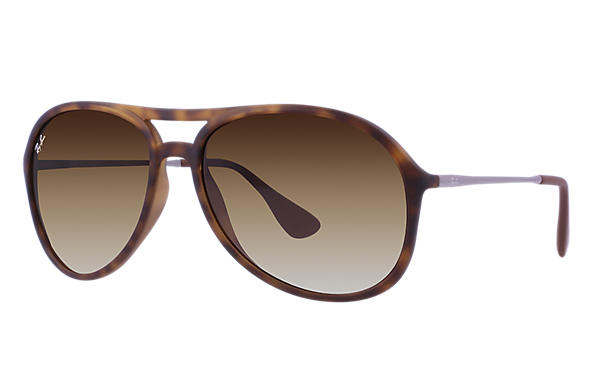 Ray-Ban 0RB4201-ALEX Tortoise; Staalgrijs SUN
