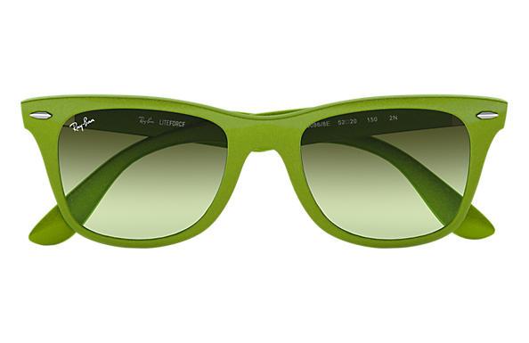 ray ban green wayfarer  Ray-Ban Wayfarer Liteforce Green, RB4195
