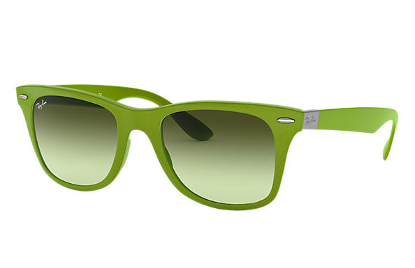 Ray-Ban 0RB4195-WAYFARER LITEFORCE Zielony SUN