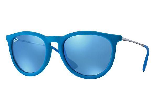 Ray-Ban 0RB4171-Erika Velvet Light Blue; Gunmetal SUN