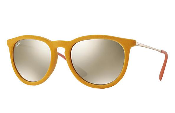ray ban sunglasses velvet  ray ban 0rb4171 erika velvet yellow velvet,yellow; gunmetal sun