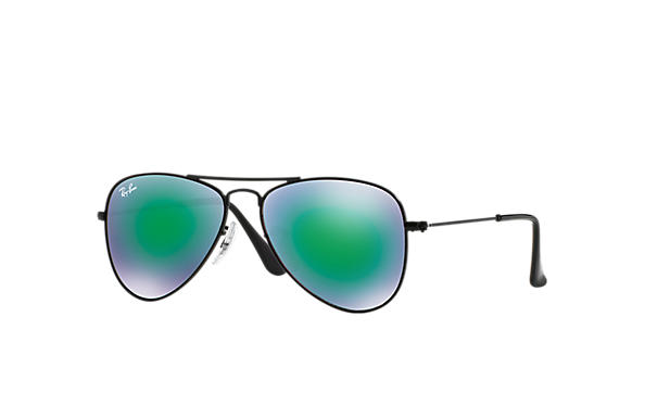 Ray-Ban 0RJ9506S-AVIATOR JUNIOR Svart SUN