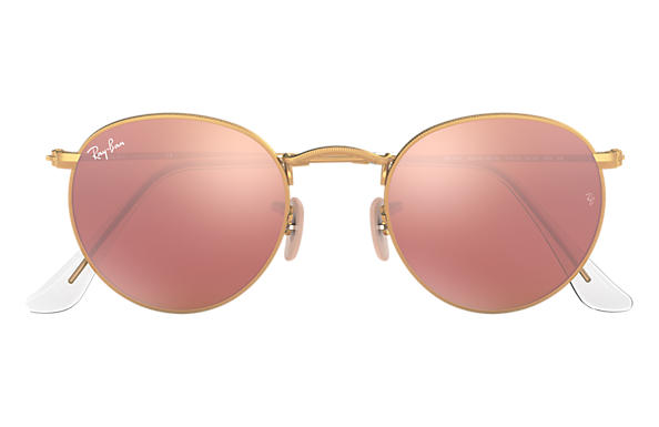 ray ban round sunglasses aliexpress  ray ban 0rb3447 round flash lenses gold sun