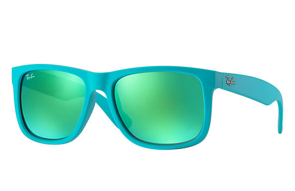 Ray-Ban 0RB4165-JUSTIN COLOR MIX Turquoise SUN