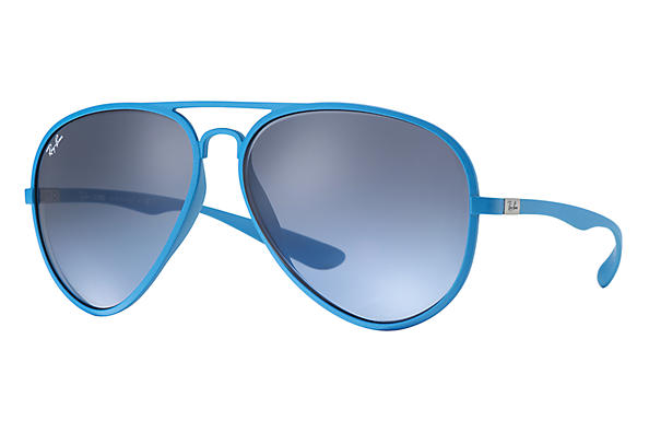 Ray-Ban 0RB4180-AVIATOR LITEFORCE Light Blue SUN