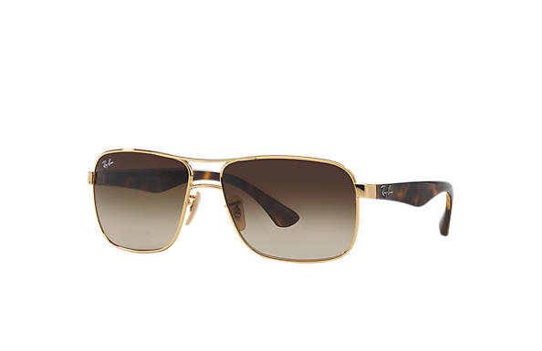 Ray-Ban 0RB3516-RB3516 Gold; Tortoise SUN
