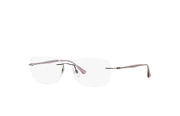Ray-Ban 0RX8725-RB8725 Gunmetal; Pink OPTICAL