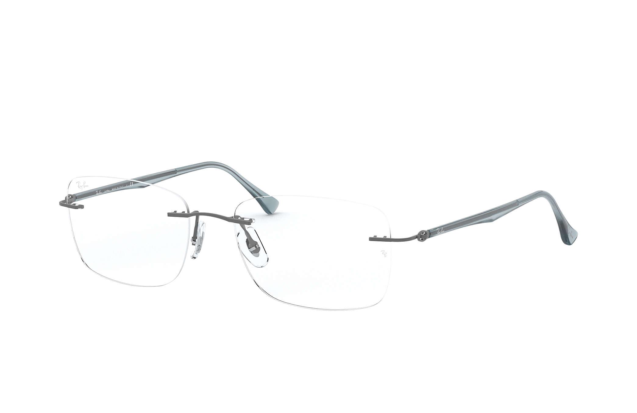 ray ban rimless titanium eyeglass frames  220.00