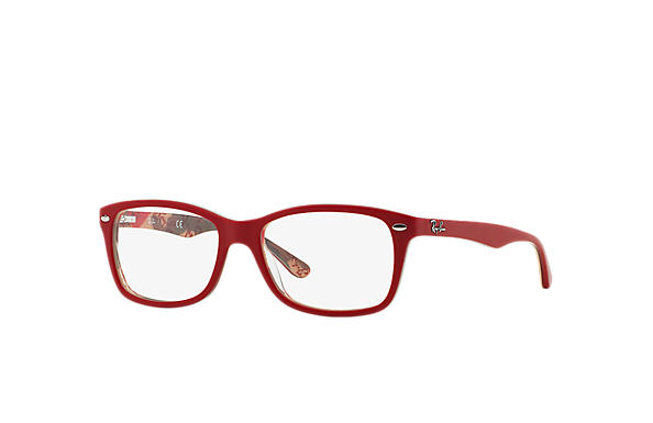 Ray-Ban 0RX5228-RB5228 Rouge,Multicolor OPTICAL