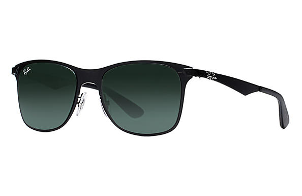 ray ban black wayfarer sunglasses  Ray-Ban Wayfarer Flat Metal White, RB3521