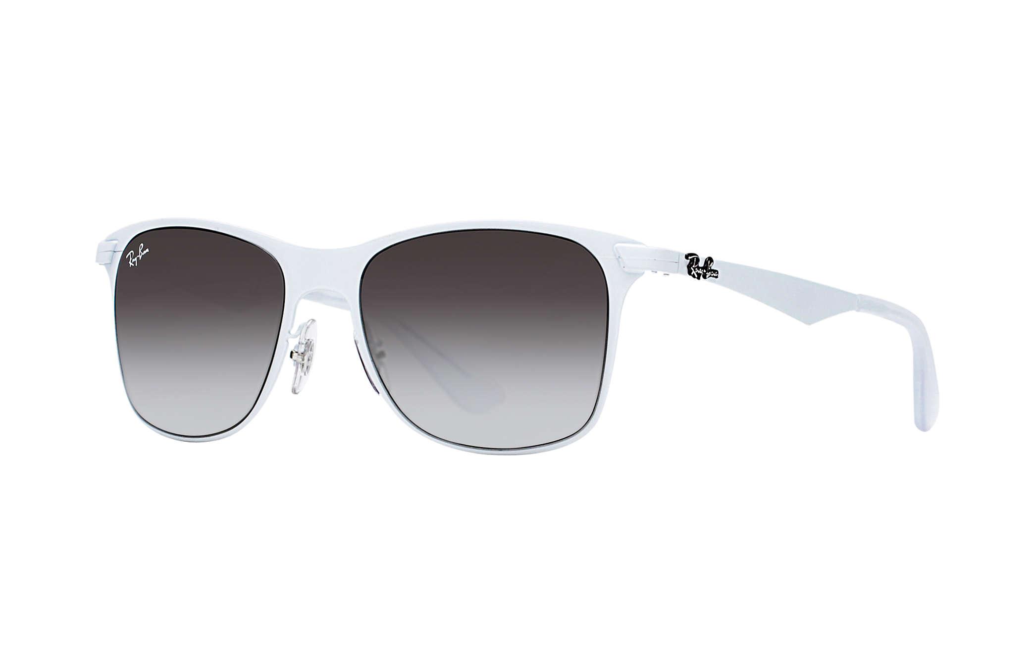 metal wayfarer sunglasses  Ray-Ban Wayfarer Flat Metal White, RB3521