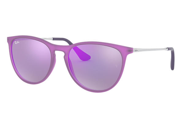 Ray-Ban 0RJ9060S-IZZY Violet; Silver SUN