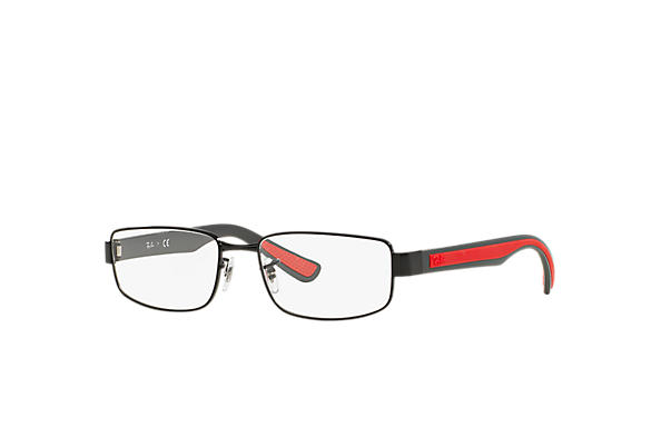 Ray-Ban 0RX6318-RB6318 Noir; Rouge,Gris OPTICAL