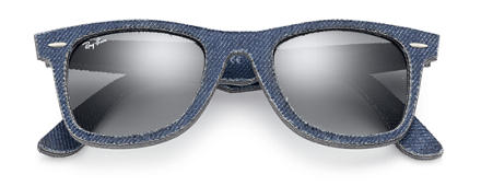 Ray-Ban ORIGINAL WAYFARER DENIM Blue with Grey Gradient lens