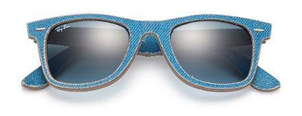 Ray-Ban ORIGINAL WAYFARER DENIM Light Blue with Blue Gradient lens