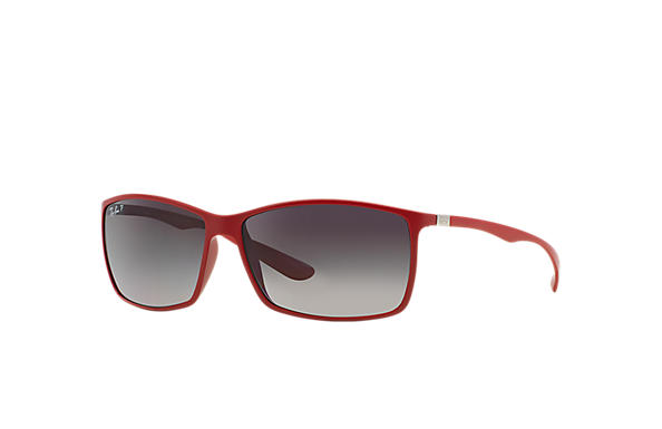 ray ban mens rb4179 liteforce square sunglasses  ray ban 0rb4179 rb4179 red sun