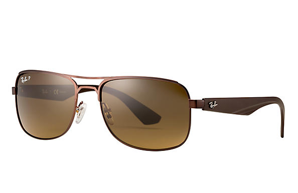 Ray-Ban 0RB3524-RB3524 Brown SUN