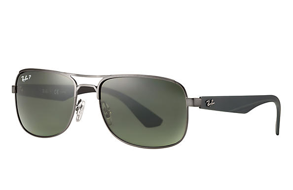 Ray-Ban 0RB3524-RB3524 Gunmetal; Grey SUN