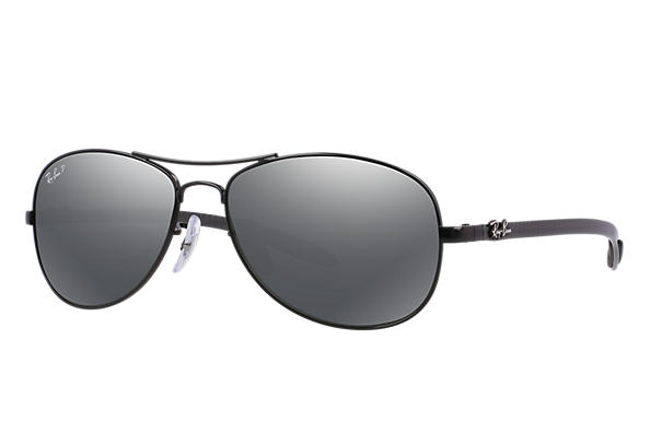 Ray-Ban 0RB8301-RB8301 Negro; Gris SUN