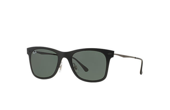Ray-Ban 0RB4210-WAYFARER LIGHT RAY Black,Grey; Grey SUN