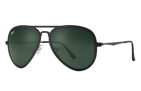 Ray-Ban 0RB4211-AVIATOR LIGHT RAY II Zwart; Grijs SUN