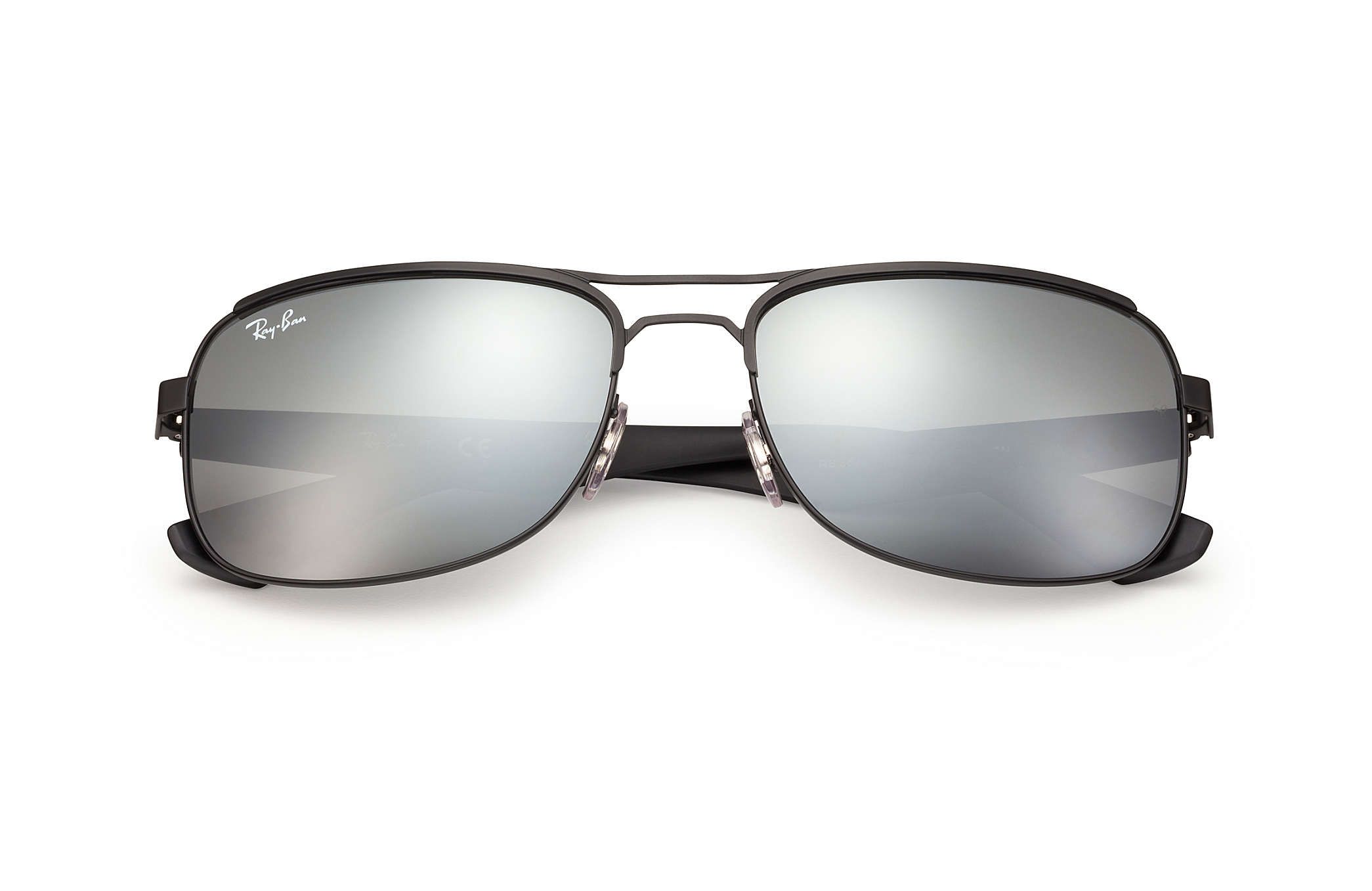 ray ban 3448  Ray-Ban RB3524 Black, Grey Lenses