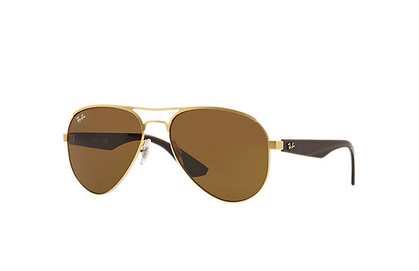 Ray-Ban 0RB3523-RB3523 Gold; Brown SUN