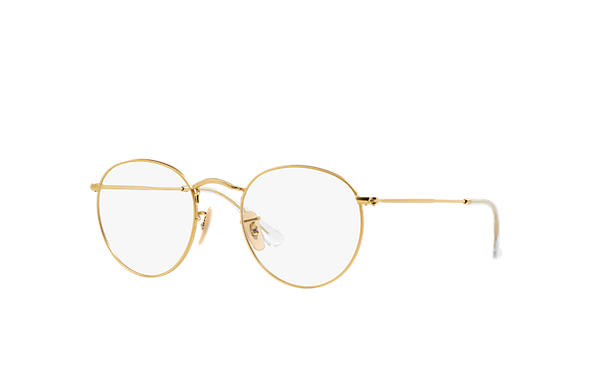 Ray-Ban 0RX3447V-RB3447V Gold OPTICAL