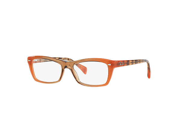 Ray-Ban 0RX5255-RB5255 Orange; Grey,Red OPTICAL